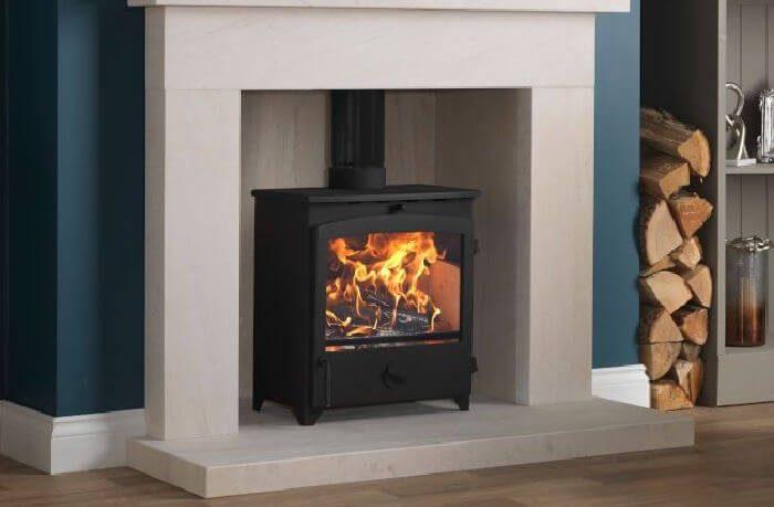 Go Eco 5kW Wide Ecodesign Ready Wood Burning : Multi Fuel Stove