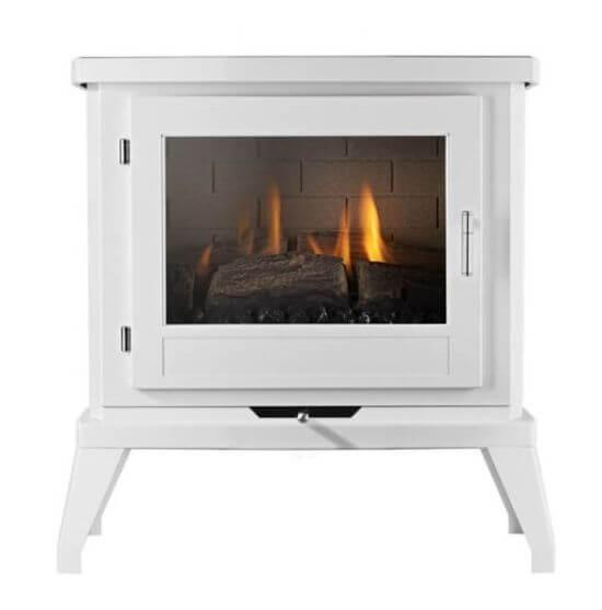 Eko Fires 6030 White Flueless Gas Stove