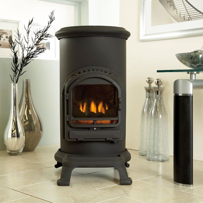 The Flavel Thurcroft stove is ideal is you have a narrow fireplace