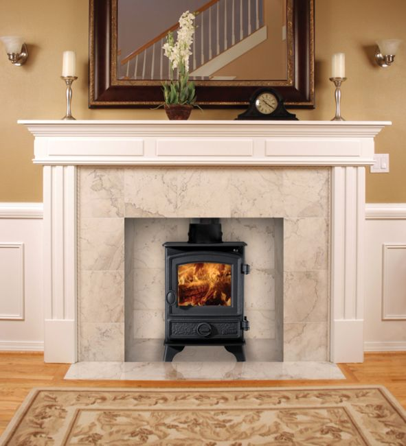 Although small, the Hunter Hawk 4 Gas Stove has a great 4.7kW heat output