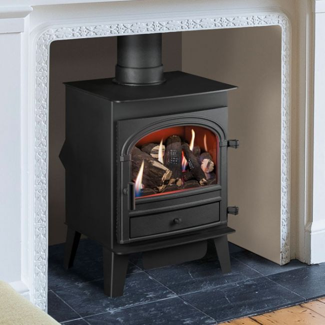 The Parkray combines traditional styling with the benefits of modern gas heating
