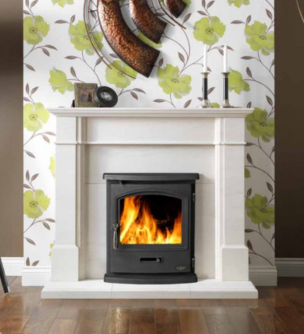 The Tiger Inset stove is great if you're looking for a stove that will fit into your fireplace