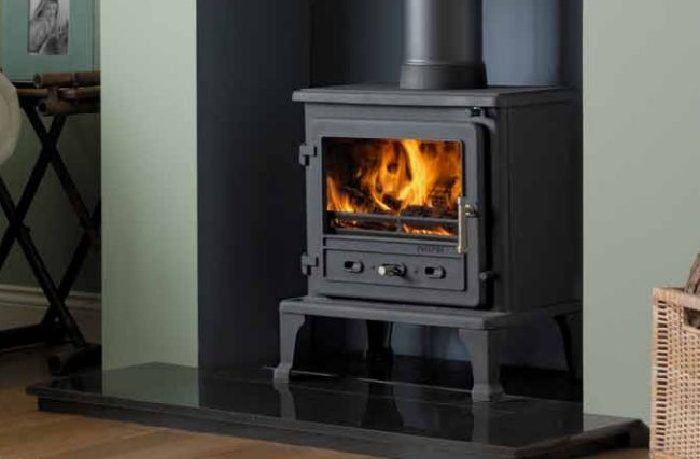 With the right preparations you can convert a gas fireplace to a wood burning stove
