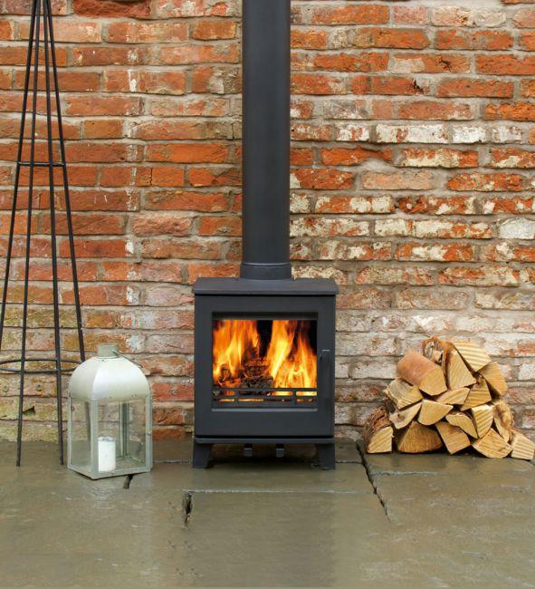 ACR Woodpecker WP4 Ecodesign Ready Wood Burning Stove