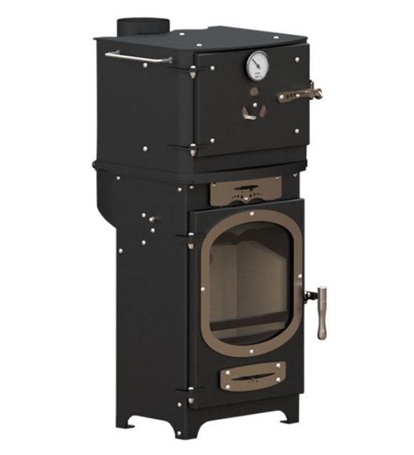 Go Eco Adventurer 5 Wood Burning Glamping Stove with Oven