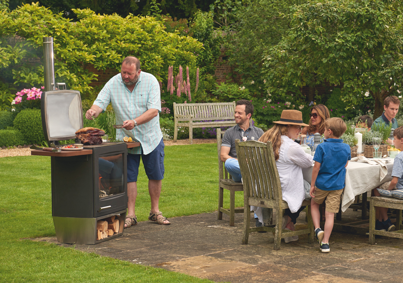 Chesneys Garden Party Wood Burning Barbecue and Outdoor Stove