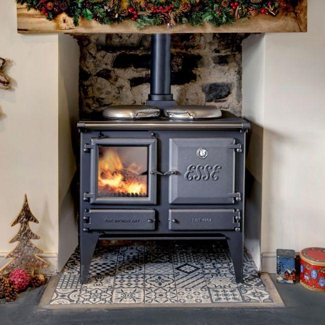 Esse Ironheart Wood Burning Boiler Range Cooker
