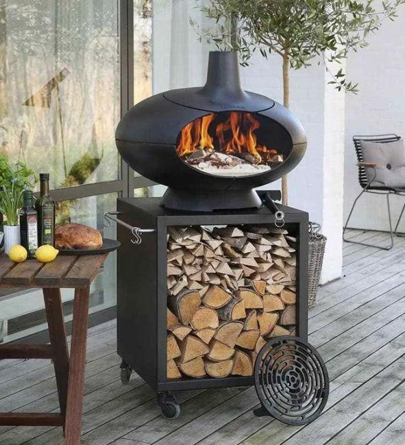 Morso Forno Deluxe Terra Outdoor Oven Set