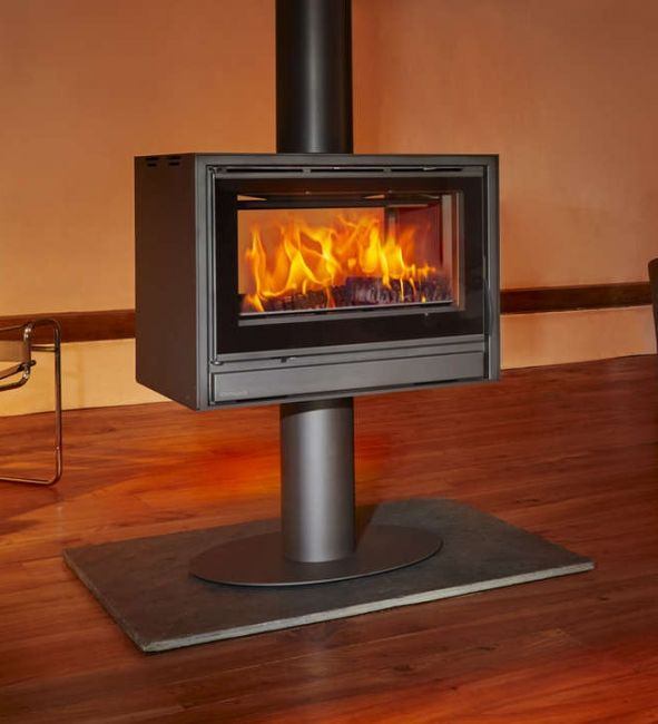 Opus Tempo 80 Double Sided Stove