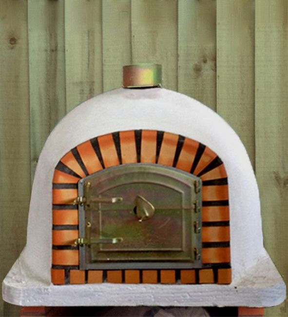 Xclusive Decor 800mm-800mm Outdoor Wood Fired Pizza Oven