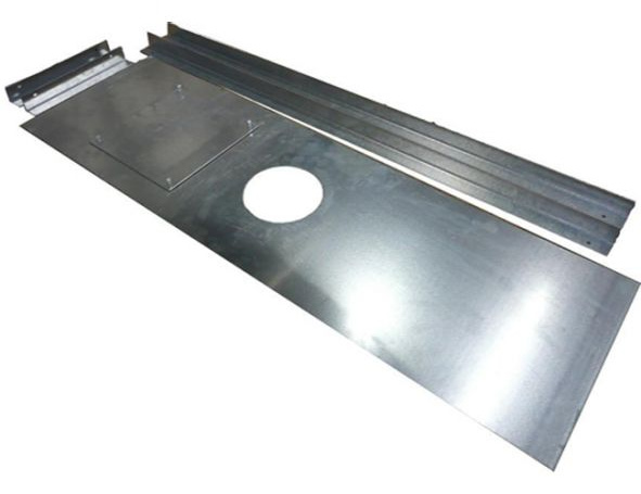1250mm x 600mm Register Plate with Cut-Out & Access