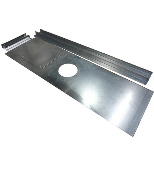 1250mm x 600mm Register Plate with Cut-Out and Access
