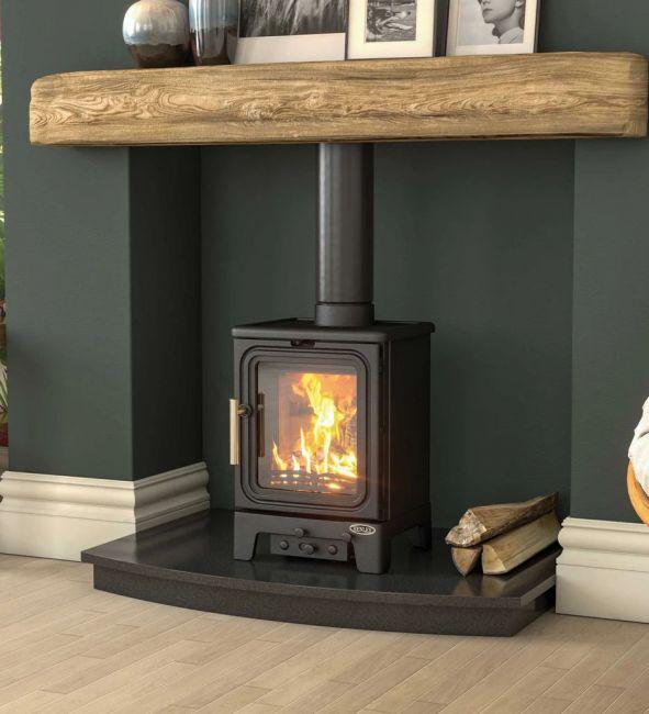 Henley Oakwood Mini Wood Burning Stove