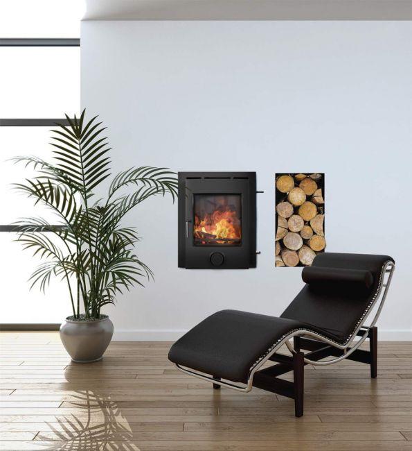Ekol Inset Plus 5kW DEFRA Approved Wood Burning/Multifuel Stove
