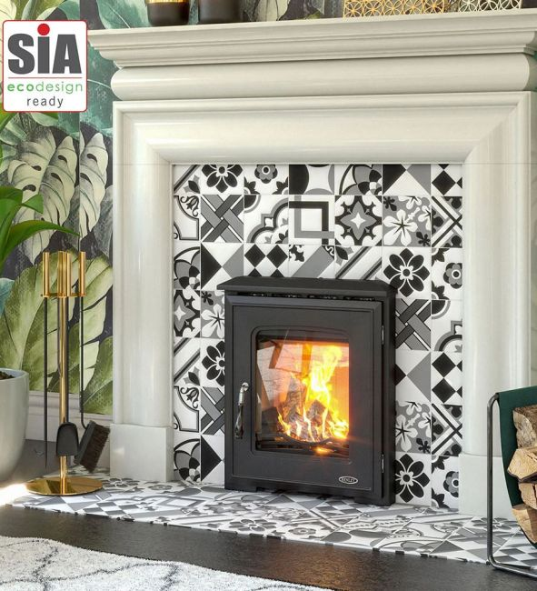 Henley Castlecove DEFRA Approved Wood Burning Inset Stove