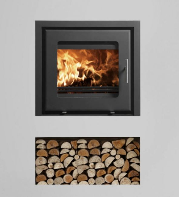 Westfire Uniq 23 DEFRA Approved Wood Burning Inset Stove